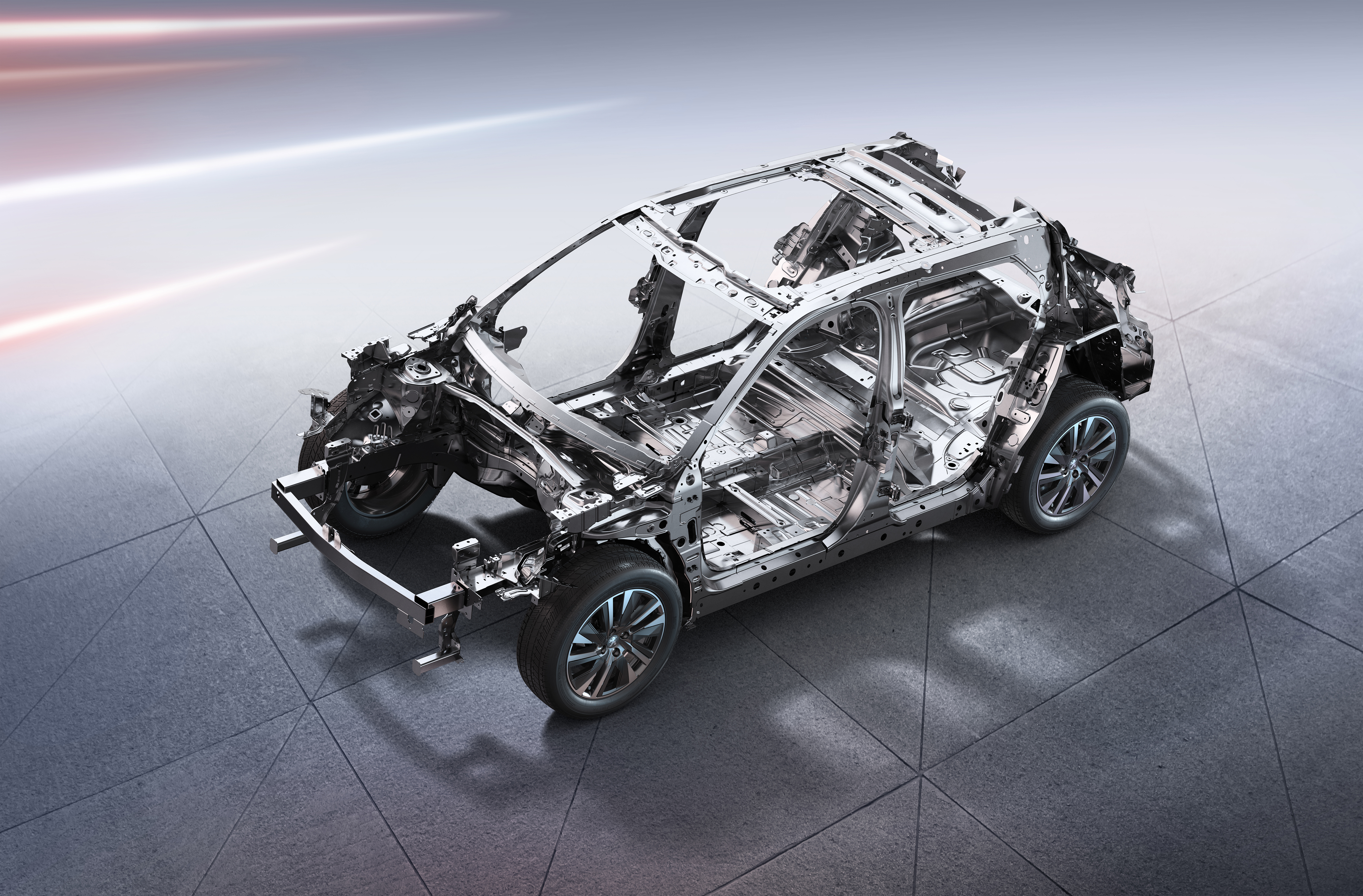 油和电-轻量化车身